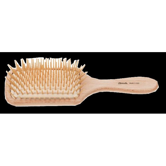 Beech Rectangular Hairbrush Magnum
