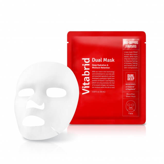Vitabrid Dual Mask-Age-defying and Firming (5x)