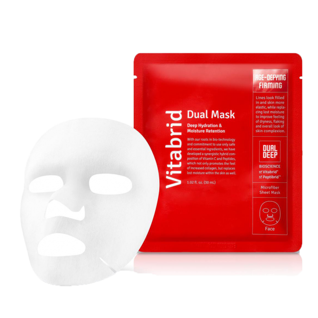 Vitabrid Dual Mask-Age-defying and Firming