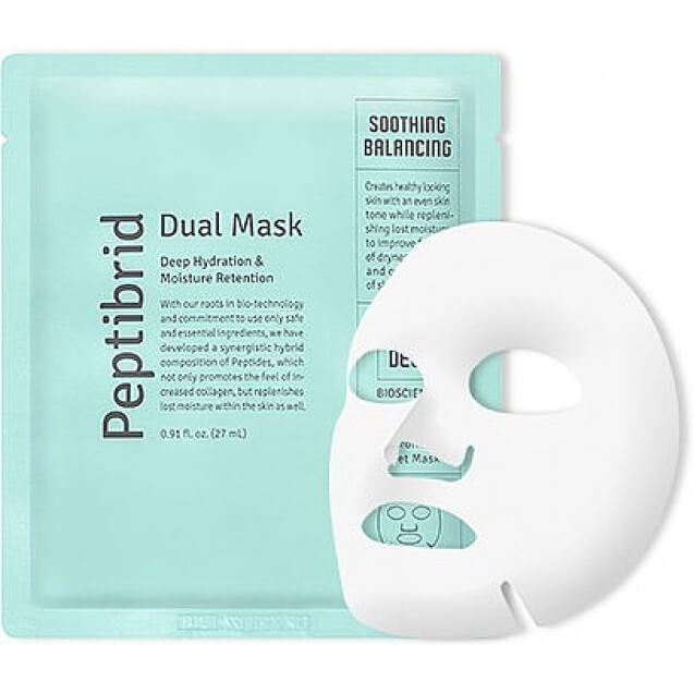 Vitabrid Peptibrid Dual Mask Soothing and Balancing (5x)