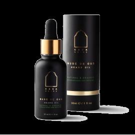 Beard oil,  Musc de Oud, 30 ml