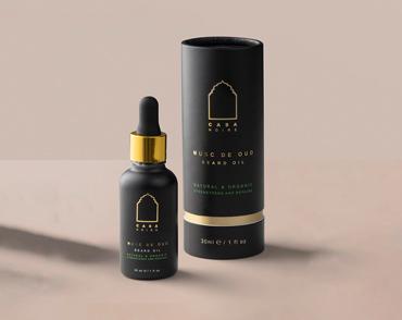 Casa Noir - Beard oil Musc de Oud