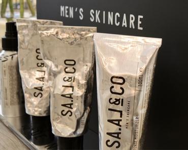 Male skin care brand